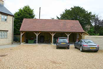 Timber building projects gloucester for 4 bay garage